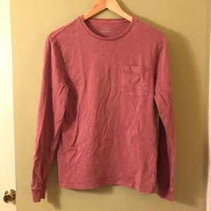Men's Small J. Crew garment dyed long sleeve
